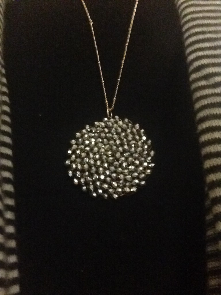 the necklace that got Mom talking on Brenda Kinsel website