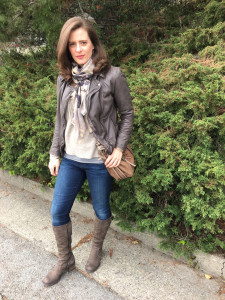 Urban chic outfit on Brenda Kinsel website