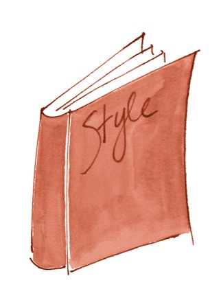 style book on Brenda Kinsel website
