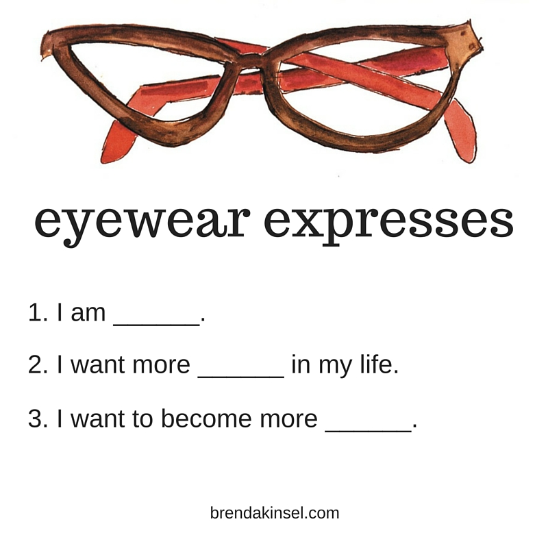 Create an eyewear plan on Brenda Kinsel website