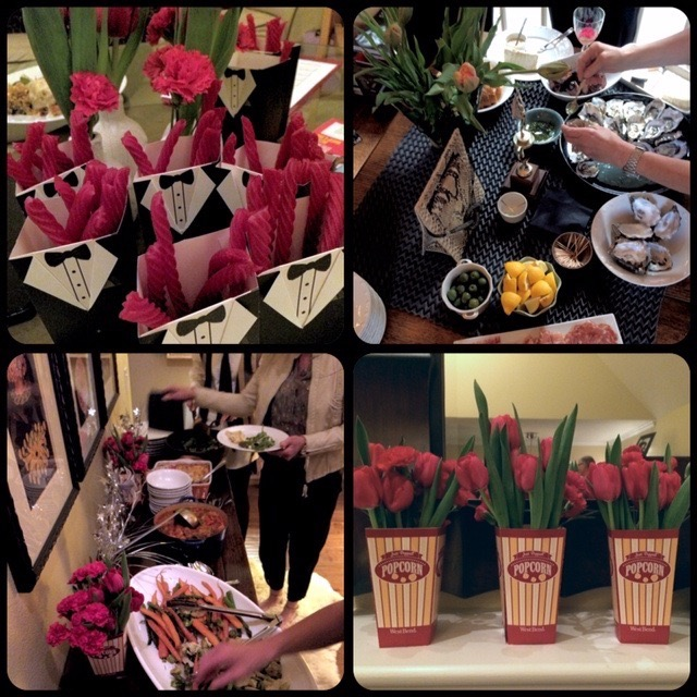 Using a scarf as a table decoration on Brenda Kinsel website