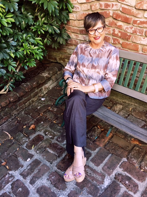 My quiet outfit on Brenda Kinsel website