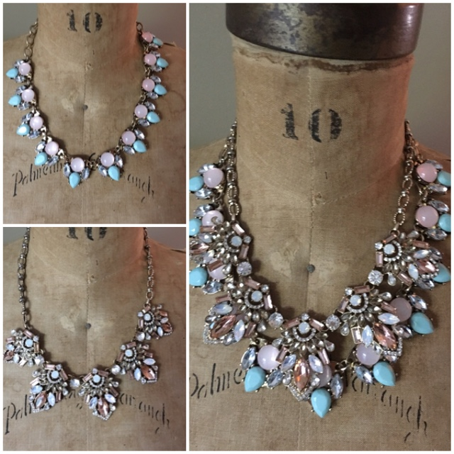 Creating a unique necklace using two at once on Brenda Kinsel website