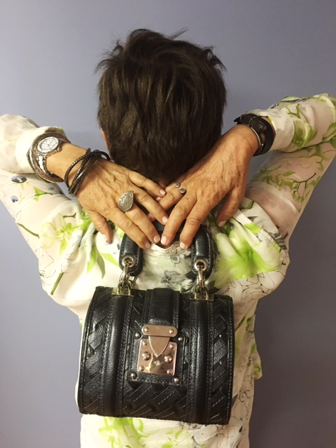 Showing handbags discovered in boutiques on Brenda Kinsel website