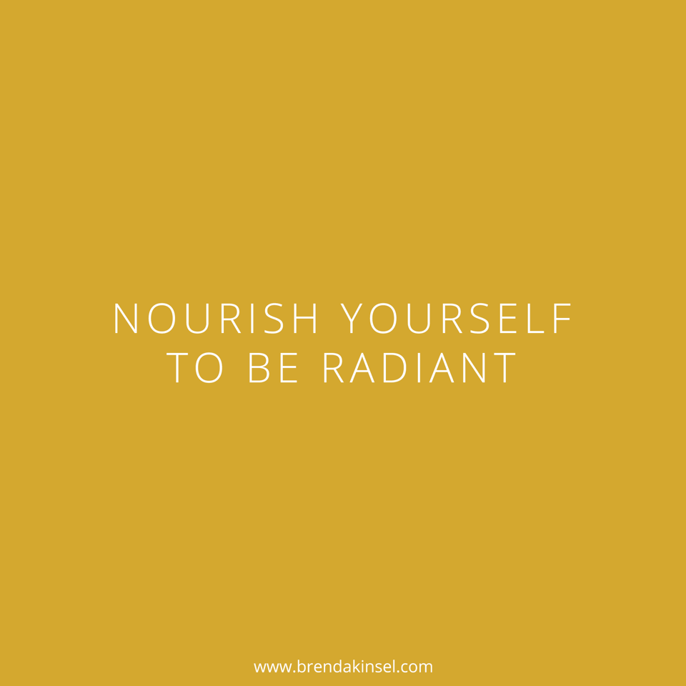 Use a mantra to nourish yourself on BrendaKinsel.com