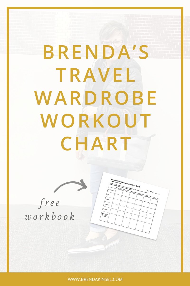 Easily plan your vacation outfits with this downloadable worksheet. www.brendakinsel.com