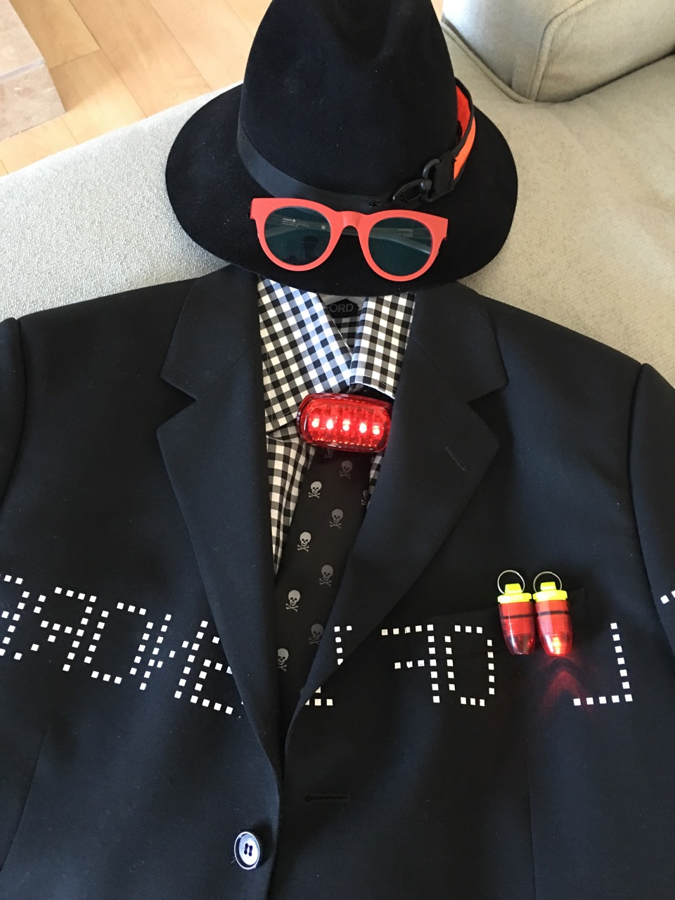 Creating playful outfits is one of the things I get to do as an image consultant on BrendaKinsel.com