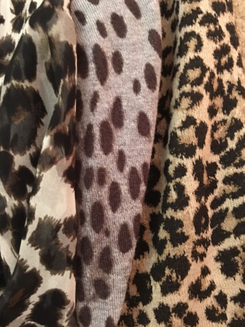 A variety of leopard print for your wardrobe on BrendaKinsel.com