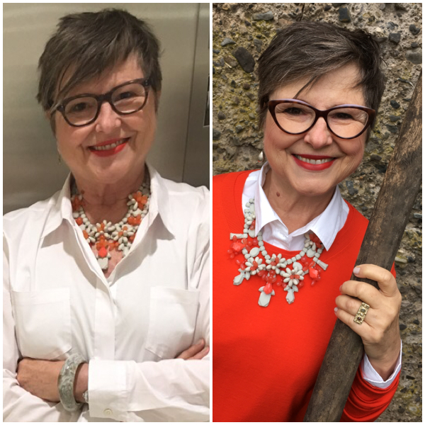 Two ways to wear the same necklace on BrendaKinsel.com