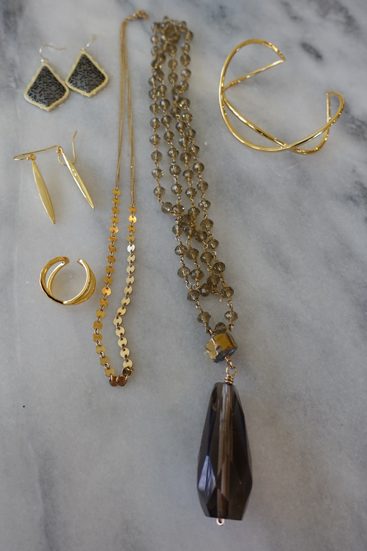 Gold and topaz Beauty Bundle on BrendaKinsel.com