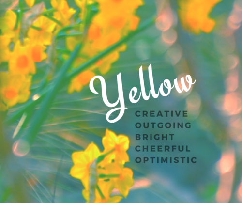 Learning about the quality of yellow on BrendaKinsel.com