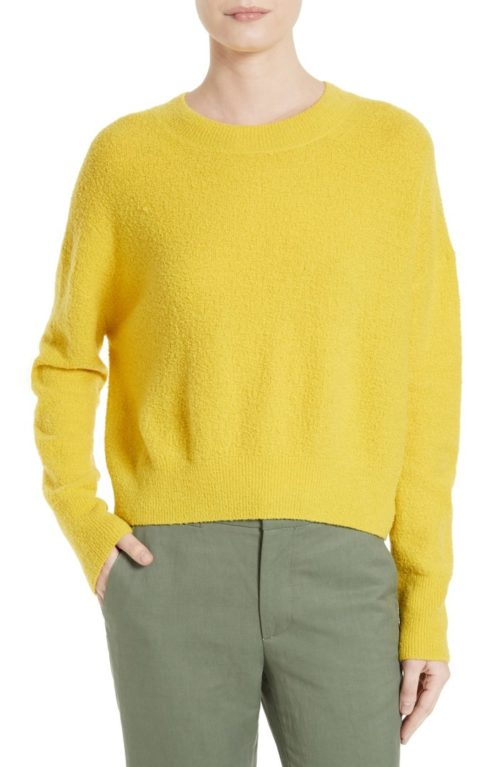 yellow Vince sweater