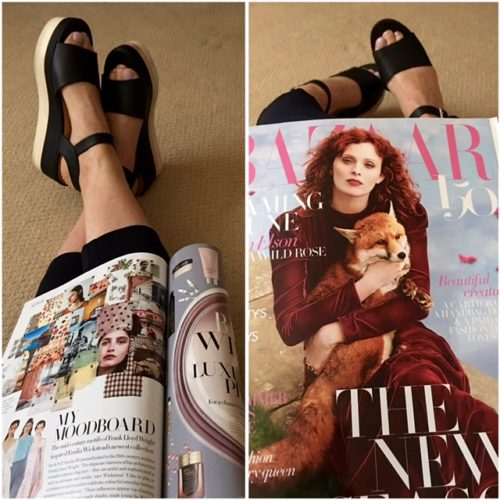 UK Harper's Bazaar on BrendaKinsel.com