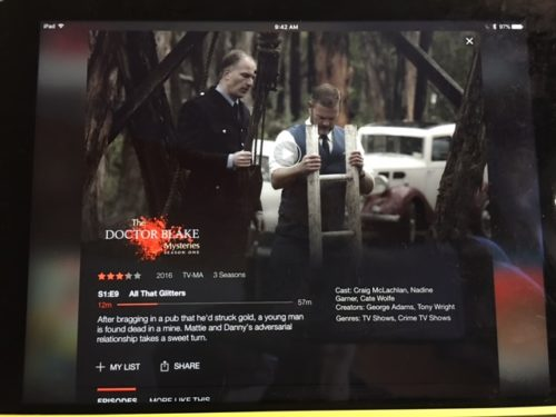 Doctor Blake BBC on BrendaKinsel.com