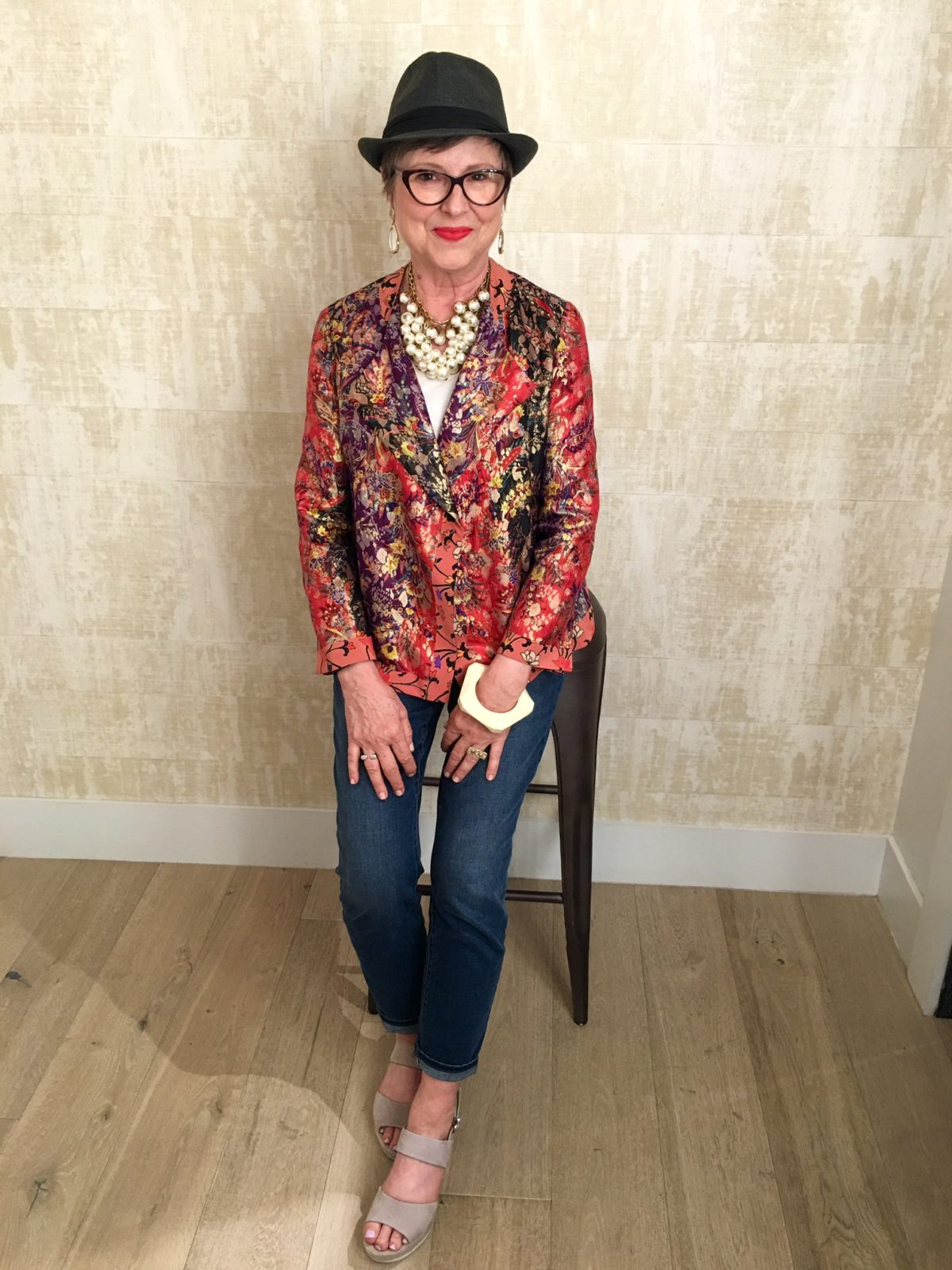 Styling an Etro jacket on BrendaKinsel.com