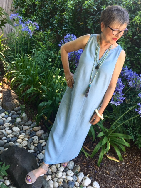 Maxi dresses are great in the heat on BrendaKinsel.com