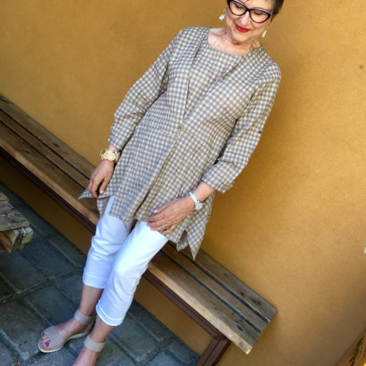 Tweaking a tunic for a new look on BrendaKinsel.com