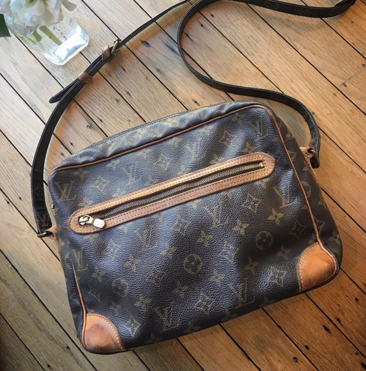 45d073d9cf7c I bought a vintage LV bag and found love inside - Brenda Kinsel