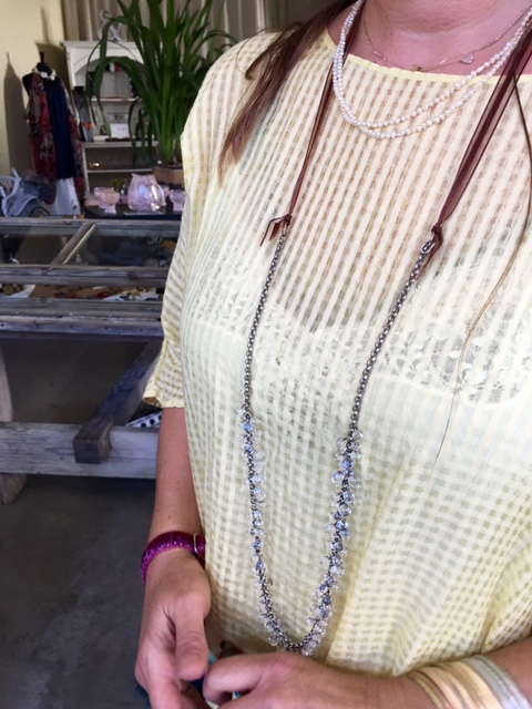 Lightweight necklaces for hot days on BrendaKinsel.com