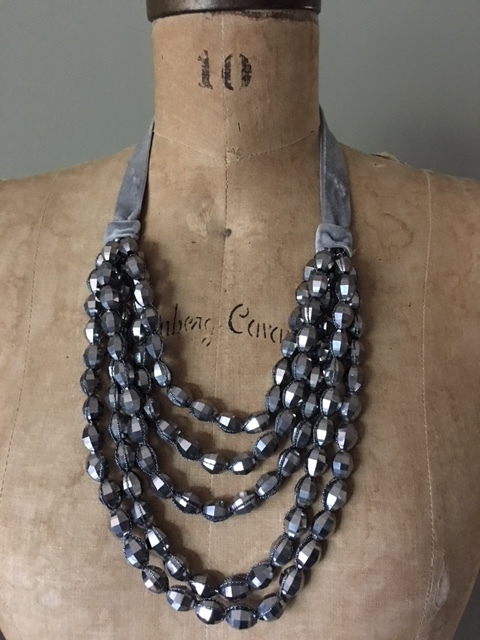 Gray Chico's long necklace