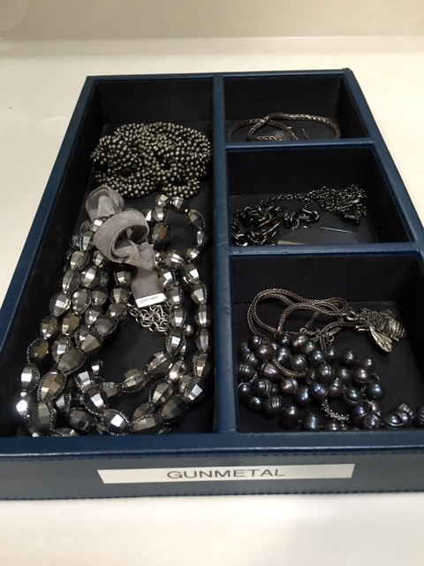 Sharing my unconventional accessory storage system Brenda Kinsel