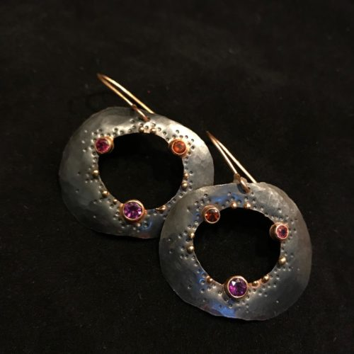Earrings by Wendy Stauffer