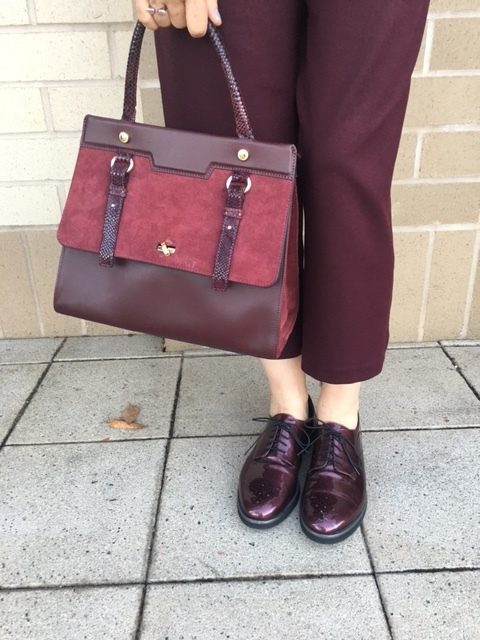 Wearing merlot three ways