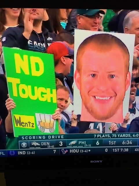 Carson Wentz from NDSU Bison football