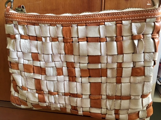 Woven bag by Caterina Lucchi