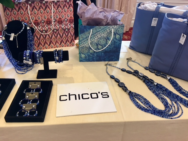 Chico's gifting suite at Mark Hopkins Hotel in SF