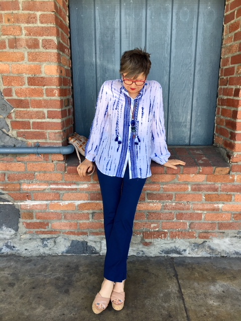 Coordinated top and pant from Chico's