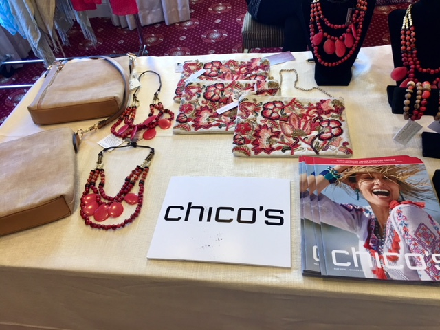 Chico's product at Stand Up for Heroes event