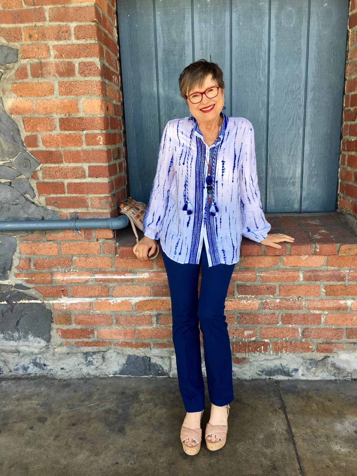 ae1601732c8c0 How a Chico s blue coordinated outfit blew my mind - Brenda Kinsel