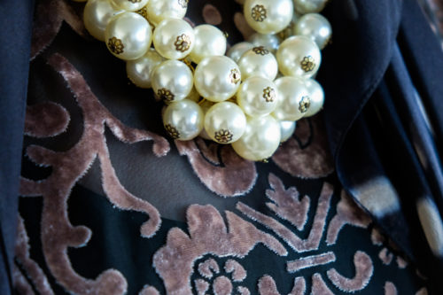 Vintage costume pearls